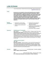 educational resume template teaching resume template resume template 2017