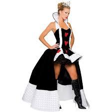 deluxe enchanting queen of hearts costume buycostumes com