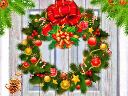 gallery for christmas wreaths wallpapers christmas wreaths