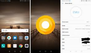 test build huawei mate 9 oreo update leaks out u2013 android soul