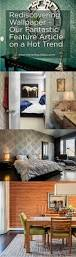 Moroccan Mystique Feature Wall Contemporary Bedroom by Rediscovering Wallpaper Nashville Interiors Asks For My Thoughts