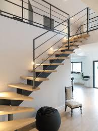 garde corps bois escalier interieur marche d escalier exterieur 6 escalier metal marches bois et
