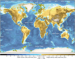 africa map landforms introduction an atlas of submarine glacial landforms geological