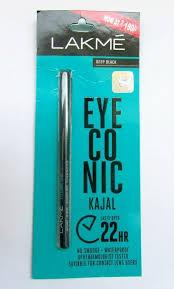 black review lakme eyeconic black 22 hr kajal review
