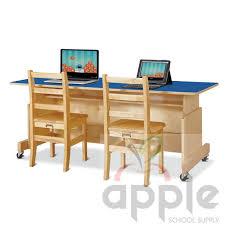 Blue Computer Desk Jonti Craft Apollo Computer Desks Factory Direct
