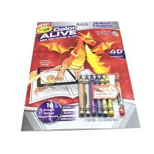crayola color alive mythical creatures action coloring pages each