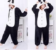panda sweater sweater kigurumi panda panda it s so adorable black and