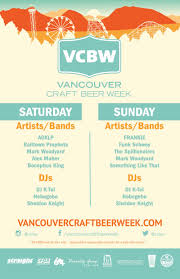 the 2017 vcbw festival in vancouver at pacific national