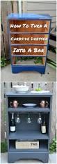 Diy Repurposed Furniture Ideas 10 Excellent Furniture Makeover Diys Dresser Bar And Craft