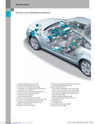 audi a6 2005 c5 2 g electrics system training manual
