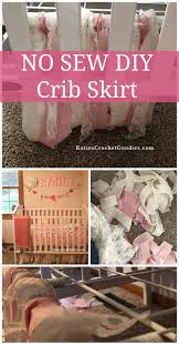 Mini Crib Sheet Tutorial by Diy Mini Crib Skirt Cribs Decoration