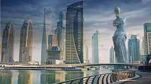 astronaut designer imagines 32 skyscrapers future