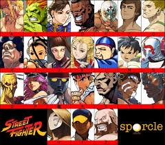 From Street Fighter Main Character Name   street fighter a z quiz by mickey2k
