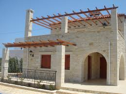 building styles traditional cretan homes stone villas