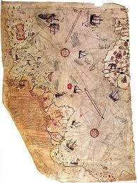 the map piri reis map