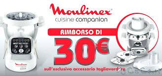 moulinex cuisine companion moulinex companion cuisine moulinex rimborsa 30 sull acquisto