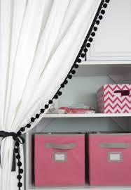 Curtains With Pom Poms Decor Adorable Pom Pom Trim For Curtains Designs With 23 Best Crafting
