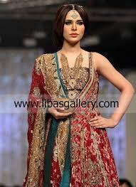sharara dresses for bridal by pakistani designer lajwanti at