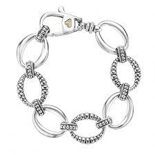 silver bracelet links images Sterling silver link bracelet links lagos jewelry jpg