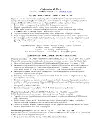 Project Manager Job Description For Resume Engineering Project Manager Resume Free Resume Example And