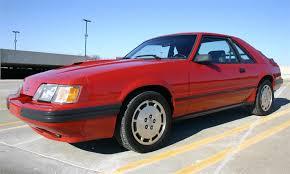 1985 5 mustang svo 1985 ford mustang svo coupe fox mustangs mustang