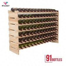 Barn Board Wine Rack Wood Wine Racks And Bottle Holders Ebay