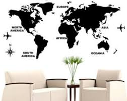 World Map Decal by World Map Wall Decal Target U2014 Interior Exterior Homie