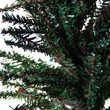 gisela graham mini fir tree on log base 38cm time uk