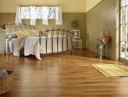 luxury vinyl flooring for bedroom design with antique furniture