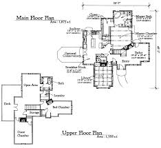 Canterbury Floor Plan by New Custom Homes In Maryland Authentic Storybook Homes In