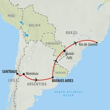 Map Of Rio De Janeiro Brazil Tours Holidays To Brazil On The Go Tours Au