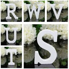 Home Decor Letters Of Alphabet A Z Wooden Wood Letters Alphabet Word Free Standing Wedding
