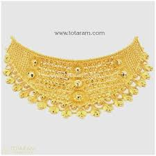 indian gold jewellery designs with price 22k gold choker necklaces