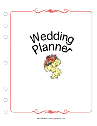 wedding planner guide free printable this wedding planner cover page puts a pretty face on your wedding
