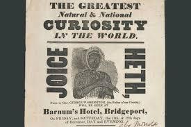 history of black friday slavery joice heth