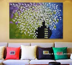 our love story modern abstract oil painting on fabric canvas wall