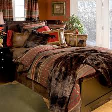 Western Bedroom Furniture Deer Mountain Bedding Collection Cabin Place