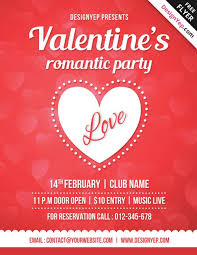 valentines flyer template 20 free s day flyer templates tutorial zone