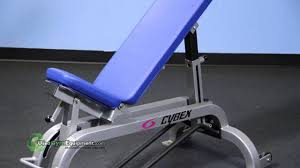 for sale used refurbished cybex adjustable bench youtube