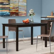 circular dining room half circle dining table wayfair