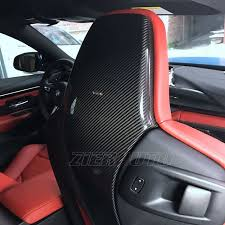 bmw m3 seats aliexpress com buy for bmw m3 m4 carbon fiber seat back cover
