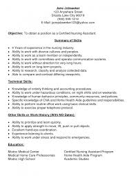 cna resume exle cover letter cna resume no experience cna resume no experience free