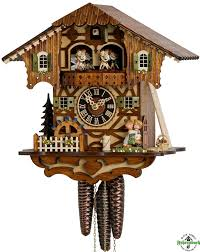 cuckoo clock 1 day chalet with hönes