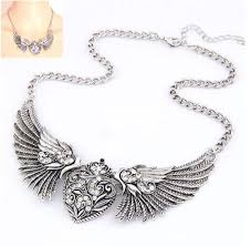 necklace with angel wings images Angel wing necklace ebay JPG
