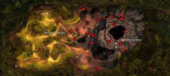 Ruby Map Blood Ruby Acquisition Guide Guild Wars Hub