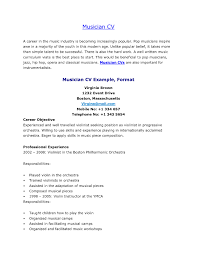 Art Resume Examples by Music Resume Sample It Resume Cover Letter Sample