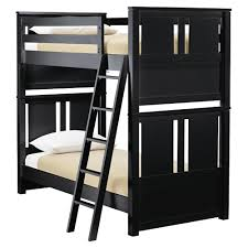 mix bunk bed in black and luxury kid furnishings including