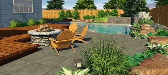 Patio And Pool Designs Planting Around A Pool The Best U0026 Worst Plants For A Pool Area