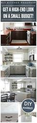 Kitchen Design Ideas On A Budget Best 25 Budget Kitchen Makeovers Ideas On Pinterest Cheap