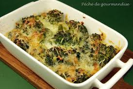 cuisiner brocolis gratin de brocolis au roquefort péché de gourmandise